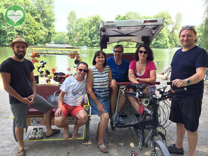 rikschaguide.com | Die Münchner Rikschafahrer/-innen | Klassische Stadtrundfahrt mit Führung