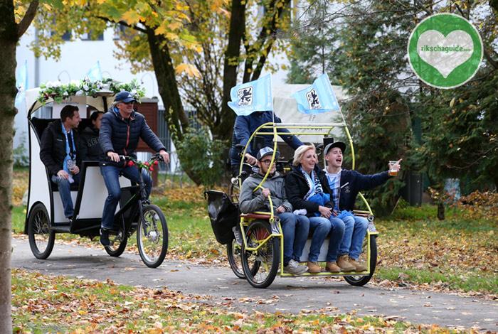 rikschaguide.com | Die Muenchner Rikschafahrer | Shuttleservice TSV 1860