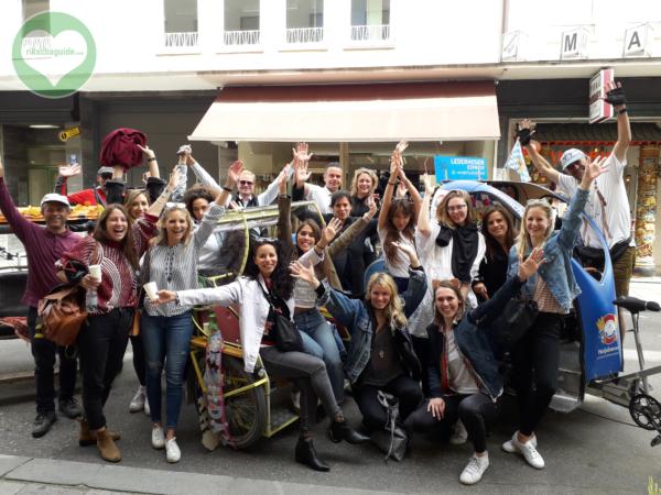 rikschaguide.com | Die Muenchner Rikschafahrer | Junggesellinnenfahrt durch München
