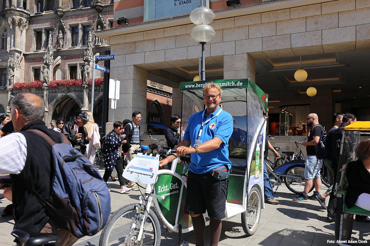 Viertes Münchner Spendenradln