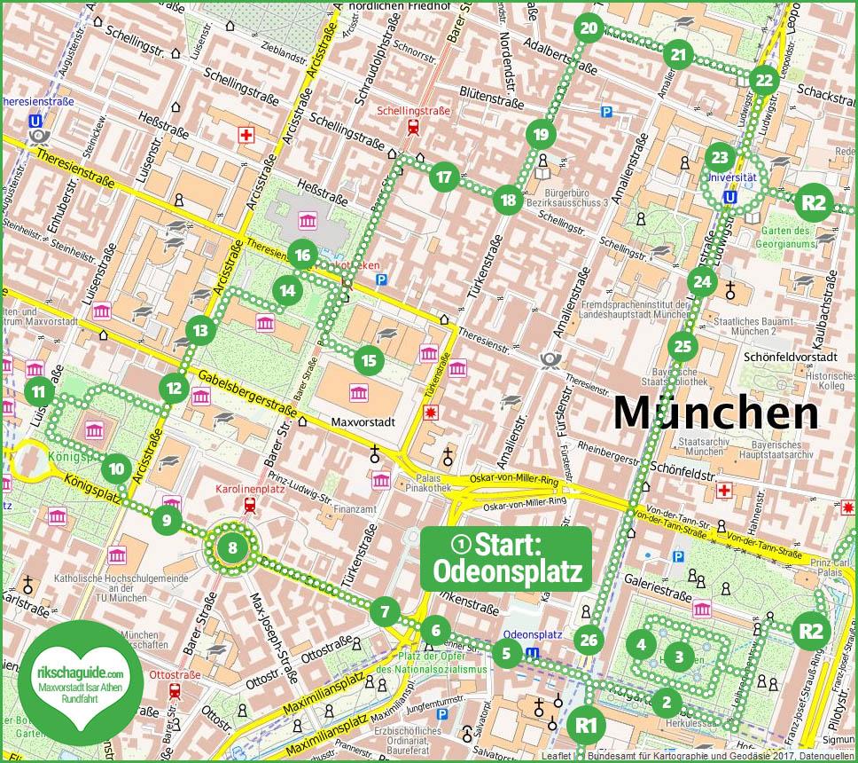 rikschaguide.com | Die Münchner Rikschafahrer/-innen | Maxvorstadt Isar-Athen Stadtführung